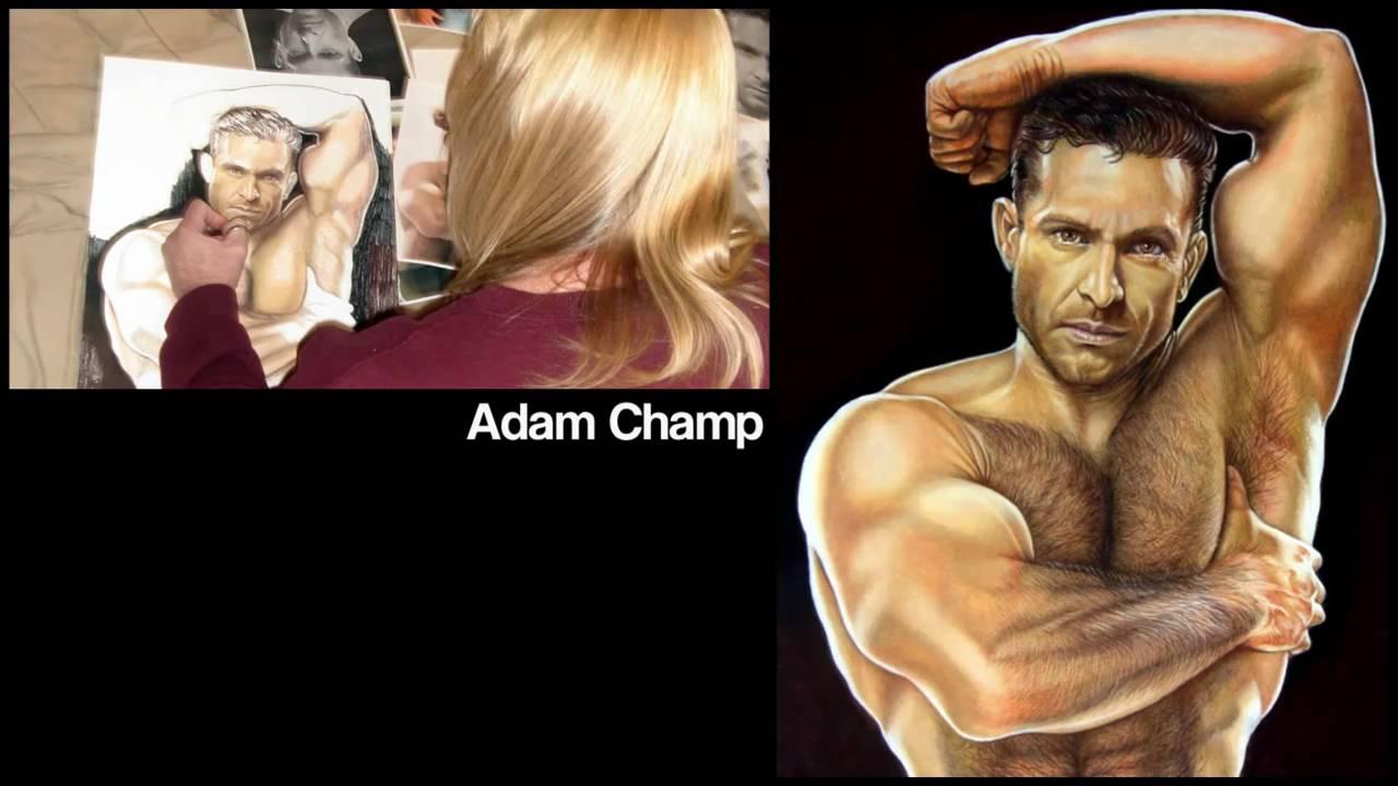 Adam Champ drawing adam champkeith mcdowell artist - youtube
