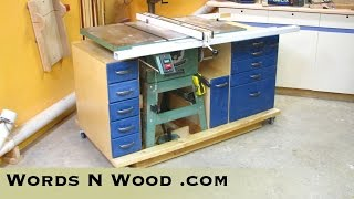 Mobile Tablesaw Workstation (wnw #2)
