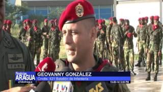 Transmisión de mando de batallones 421 y 422 de Batallón de Infantería Paracaidista 19/09/2014