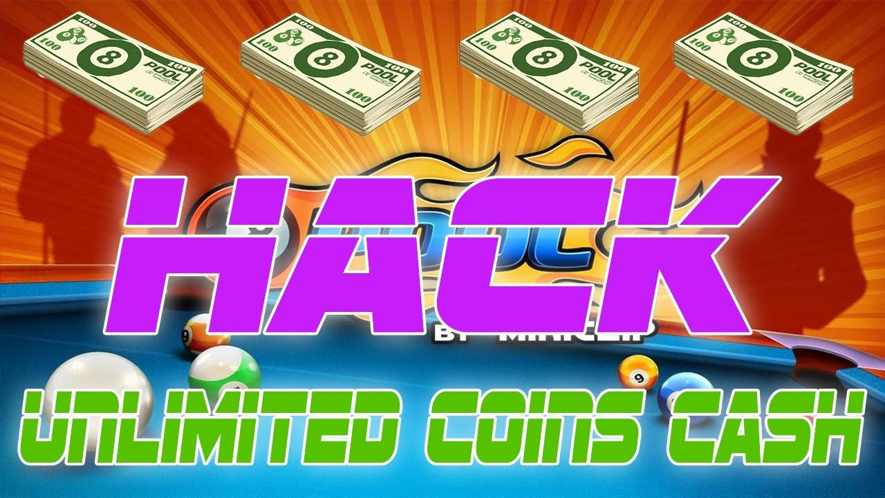 *NEW* 8 BALL POOL HACK - UNLIMITED COINS/CASH (Android/IOS ...