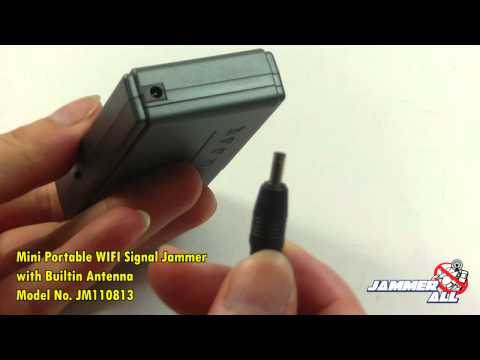 Antenna for mobile phone signal - TITAN - 8 bands mobile phone jammer (8W)