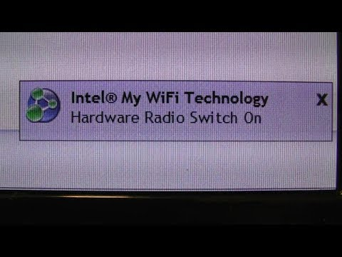 Intel My WiFi Technology Hardware Radio Switch is OFF Toshiba Laptop FIX SOLVED Solution