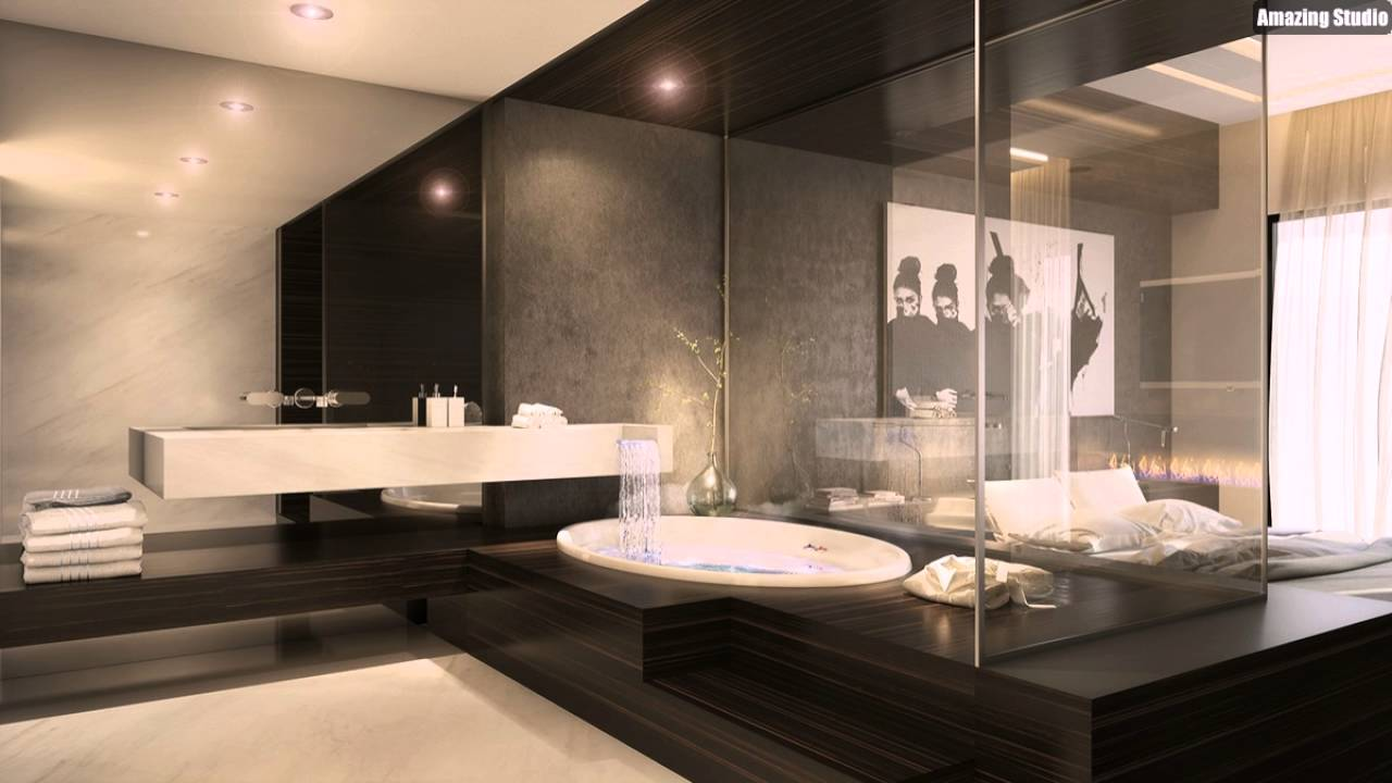 Luxus Schlafzimmer Badezimmer Ideen  YouTube