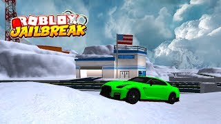 PLAYING THE JAILBREAK WINTER UPDATE EARLY! (New Car?) | Roblox