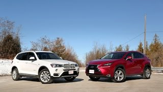 2015 BMW X3 xDrive28d vs. 2015 Lexus NX 300h