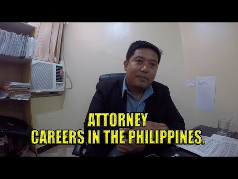 ATTORNEY. Careers in the Philippines (Village People Philippines)