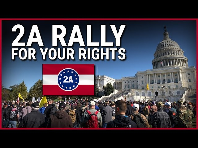 Hickok45, IV8888, MAC, Maj Toure, Dick Heller & More! At 2A Rally For Your Rights In DC!