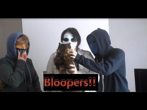 CreepyPasta Shorts (Toby & Masky & Eyeless Jack) BLOOPERS!!!