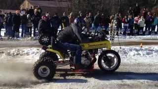 Team Swampass Lawn Mower Racing Lawn Tractor Drag Racing - Outlaw Class