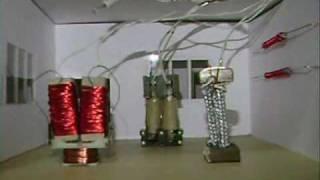 Exposición de sala de mufas Universidad Galileo, Gautemala, Telecom...