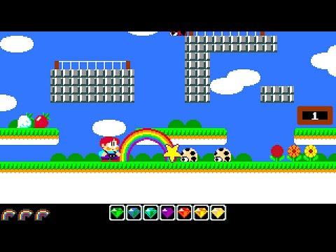 Rainbow Islands Longplay (Amiga) [QHD]