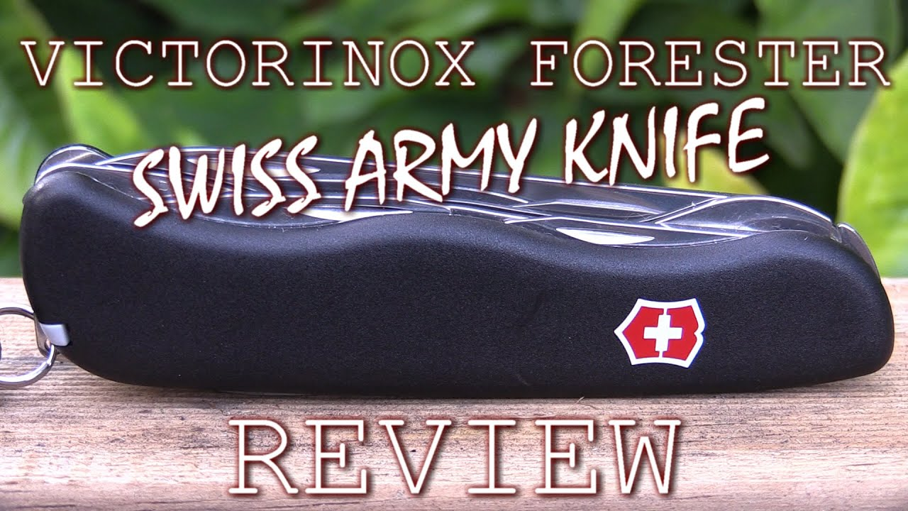 Victorinox Forester Swiss Army Knife Review Youtube