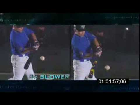 BBCOR Bats Explained : ESPN's Sport Science NCAA Baseball