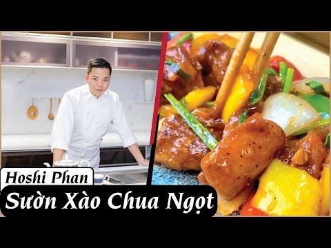 TẬP 8: Cách Làm Món Sườn Xào Chua Ngọt Cực Kì Ngon Và Dễ Làm Tại Nhà - Chef Hoshi Phan