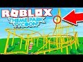 WORLDS BIGGEST ROLLER COASTER IN ROBLOX! (Roblox Theme Park Tycoon 2)