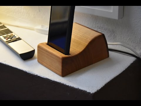 DIY | Design mobile phone docking station