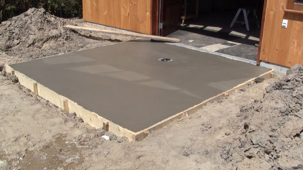 The Woodpecker Ep 86 The Concrete Slabs In Front Of My