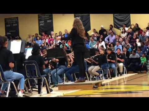 Ain't No Mountain High Enough. RMS 6th grade band