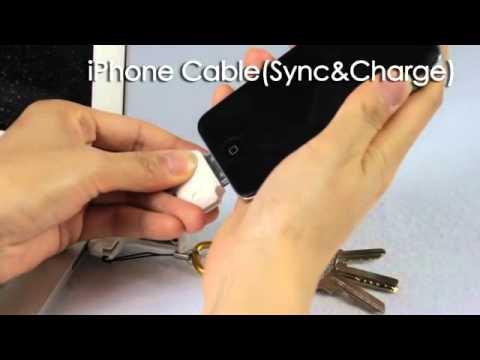 CARD KC3-B 六合一 多功能手機吊飾配件組-黑色