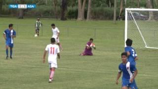 2016 OFC U20 Preliminary | Tonga vs American Samoa