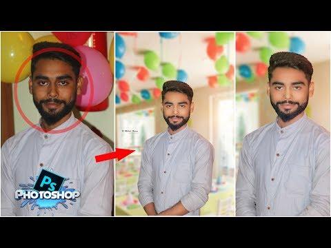 Photoshop tutorial | How to change indoor photo background easily in Photoshop Cc | Tapash Editz thumbnail