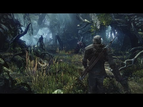 The Witcher 3 | Fighting A Leshen - Death March Difficulty