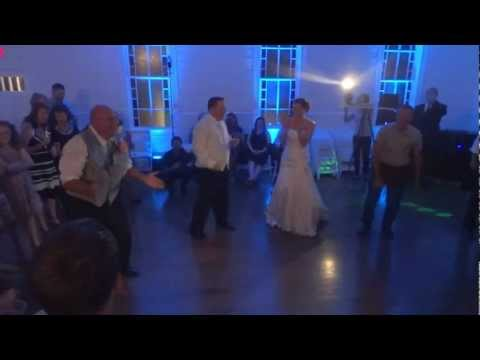 Jeff & Lindsay Wedding 2012 - Alligator Dance - Gloria