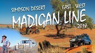 Simpson Desert Madigan Line by 4wd [2018] | Incl Desert Walker Footage | EP 4 | ALLOFFROAD #154