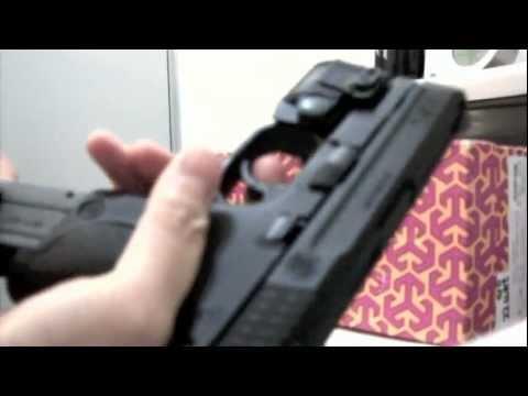 VFC Cybergun S&W M&P 9c gbb test.mov