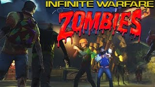 infinite warfare zombies gameplay breakdown pack a punch magic wheel guns spaceland zombies