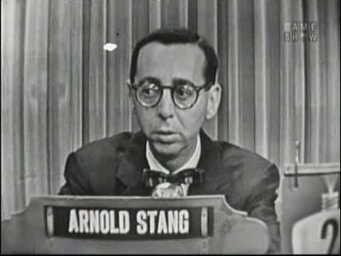 What's My Line? - Arnold Stang; Betty White [panel] (Jun 19, 1955)