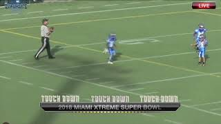 2018 Miami Xtreme Peewee Superbowl Highlights