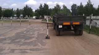 РБ, г.Могилёв, ДОСААФ, практика вождения по категории