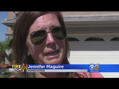 Homes Continue To Smolder In Anaheim Hills