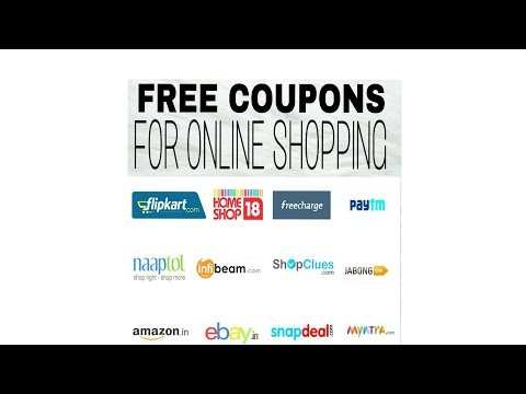 FREE Coupon for online shopping