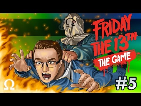 BURNT TO A CRISP, LET'S GO SKINNY DIPPING! | Friday the 13th The Game #5 Ft. Delirious, Bryce +More!