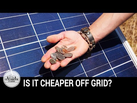 Is It Cheaper Off-Grid? Our First 5 Months Living Off The Gr