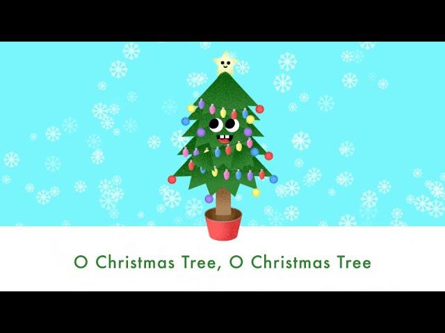 O Christmas Tree Christmas Song Lyrics Youtube