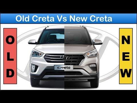 Old Creta vs new creta facelift 2018 Full comparison Changes and features in new creta