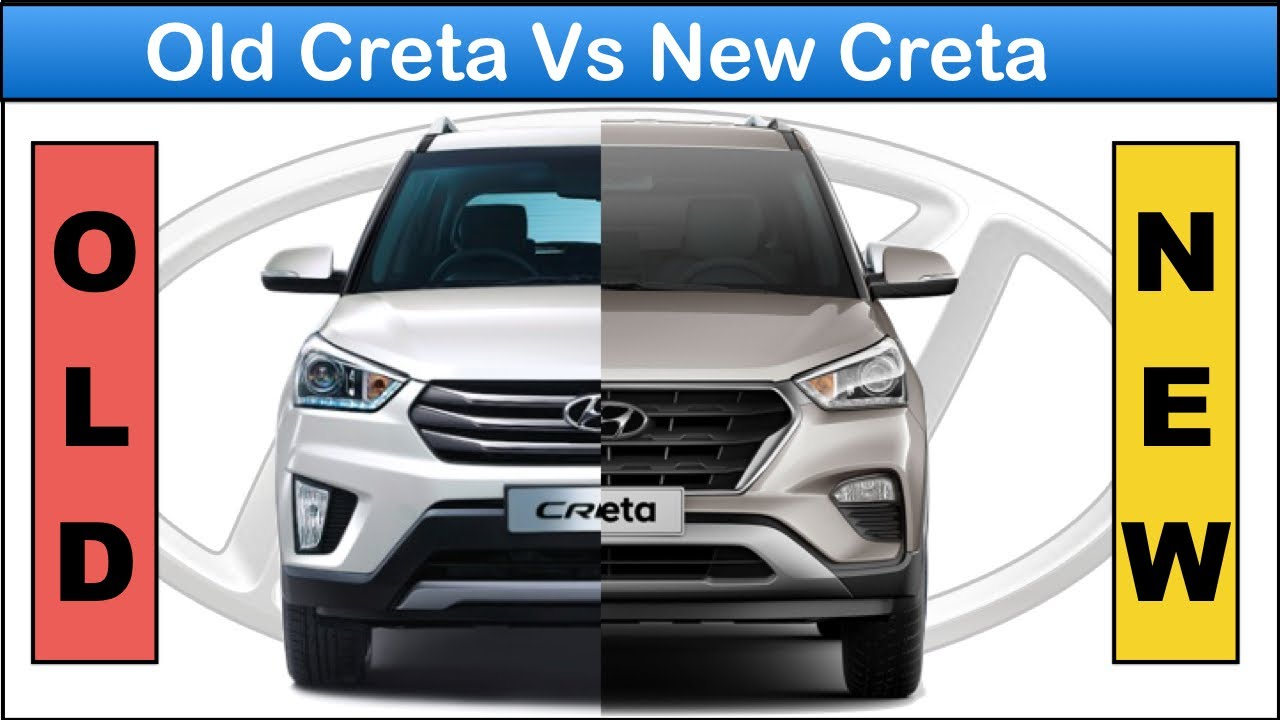 Old Creta vs new creta facelift 2018 Full comparison ...