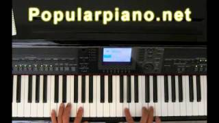 How to play Right here Waiting for You on piano by jeff
