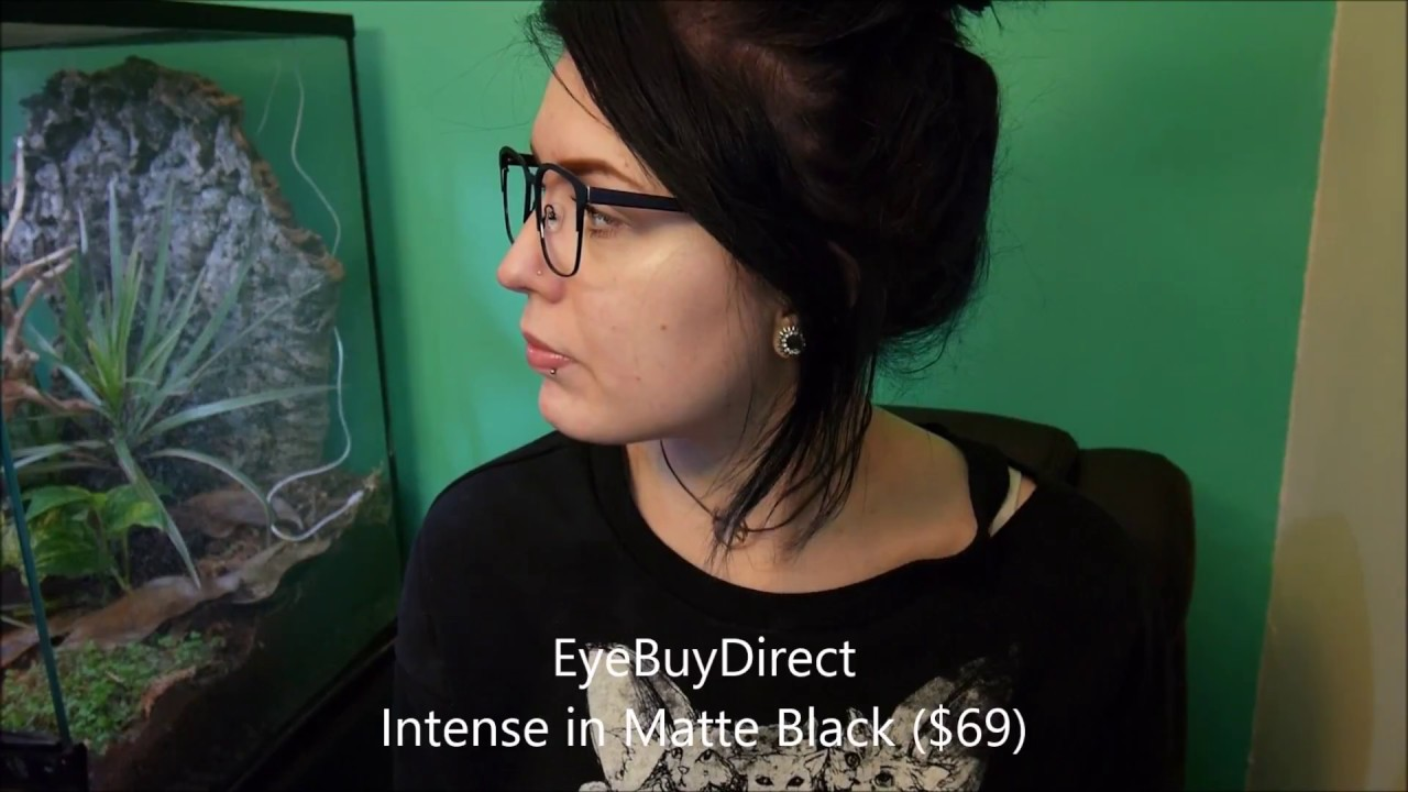 b942a12faa2 Glasses Try-On Haul (EyeBuyDirect Clearly Contacts Zenni Optical ...