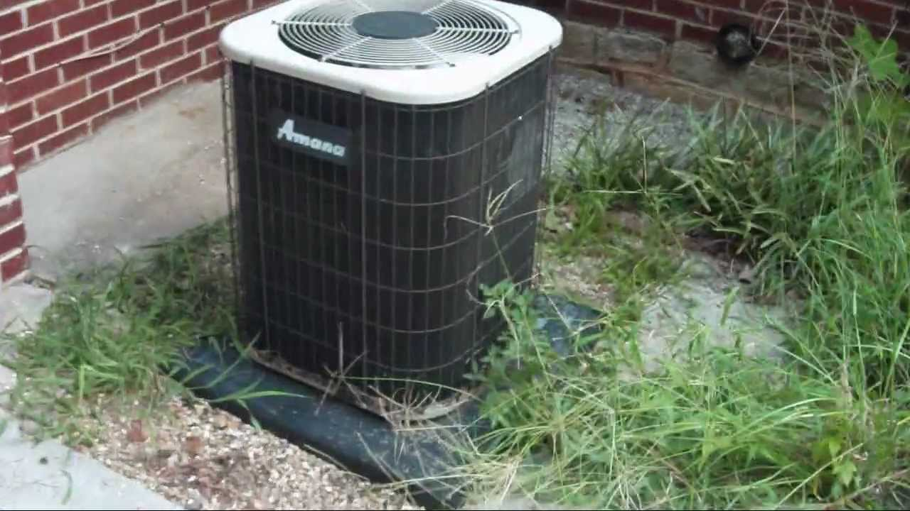 The Amana Prestige 2 5 Ton Central Air Conditioner