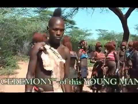 Family life in the Himba tribe