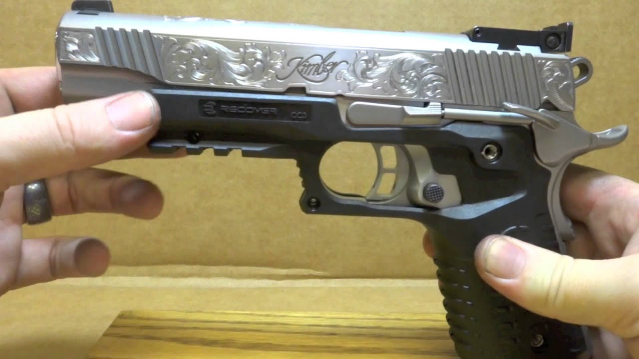 kimber stainless gold match ii with crowned barrel