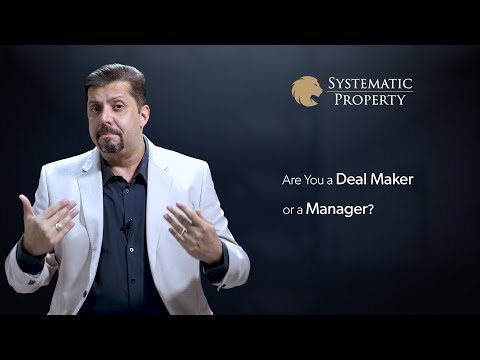 Are You a Deal Maker or a Manager?
