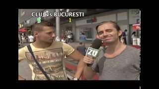 Omul strazii - Cluj vs. Bucuresti