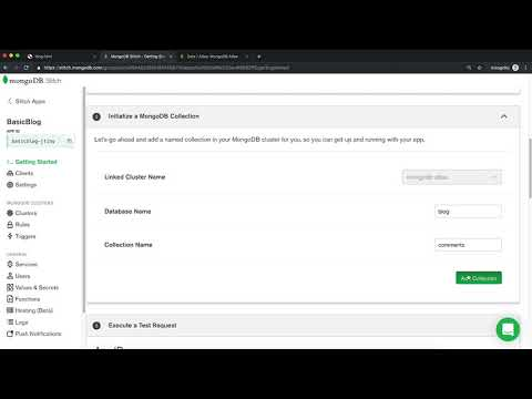 Intro to MongoDB Stitch: Creating a Stitch App