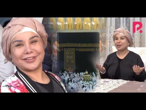 Yulduz Usmonova UMRA safaridan qaytdi l Oilaviy video