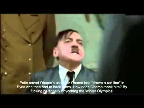 Hitler Reacts to Obama's Reaction to the Crimea Invasion
